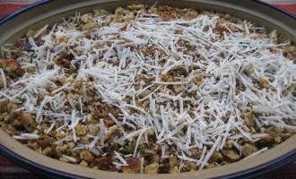 Crispy mushroom layer