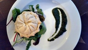 Curried squash pithivier